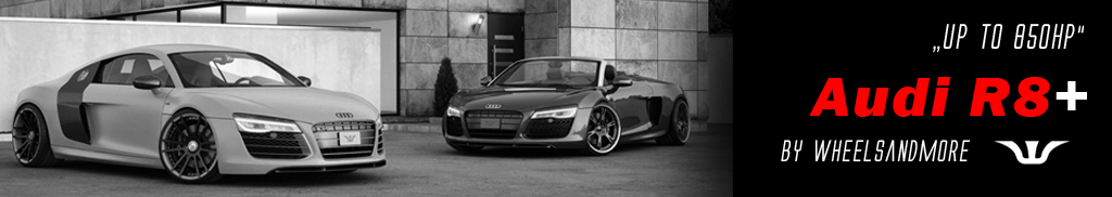 Wheels and more - Audi R8